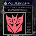 Transformers Decepticons Decal Sticker tf Pink Emblem 120x120