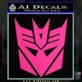 Transformers Decepticons Decal Sticker tf Pink Hot Vinyl 120x120