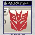 Transformers Decepticons Decal Sticker tf Red 120x120