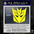 Transformers Decepticons Decal Sticker tf Yellow Laptop 120x120