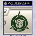 Transformers Nest Emblem D1 Decal Sticker Dark Green Vinyl 120x120