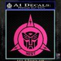 Transformers Nest Emblem D1 Decal Sticker Pink Hot Vinyl 120x120