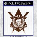 Transformers Nest Emblem D4 Decal Sticker BROWN Vinyl 120x120