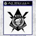 Transformers Nest Emblem D4 Decal Sticker Black Vinyl 120x120