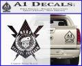 Transformers Nest Emblem D4 Decal Sticker Carbon FIber Black Vinyl 120x97