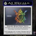 Transformers Nest Emblem D4 Decal Sticker Glitter Sparkle 120x120