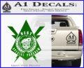 Transformers Nest Emblem D4 Decal Sticker Green Vinyl Logo 120x97