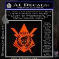 Transformers Nest Emblem D4 Decal Sticker Orange Emblem 120x120