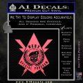 Transformers Nest Emblem D4 Decal Sticker Pink Emblem 120x120