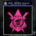 Transformers Nest Emblem D4 Decal Sticker Pink Hot Vinyl 120x120