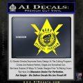 Transformers Nest Emblem D4 Decal Sticker Yellow Laptop 120x120