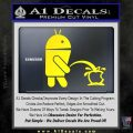 Android Pissing On Apple Decal Sticker Yellow Laptop 120x120