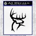 Buck Commander Decal Sticker Black Vinyl 120x120