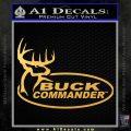 Buck Commander Full Decal Sticker Gold Vinyl 120x120