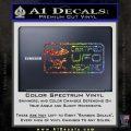 Certified UFO Mechanic Decal Sticker Glitter Sparkle 120x120