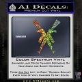 Crossed Ak 47s D1 Decal Sticker Glitter Sparkle 120x120