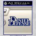 Daniel Defense D2 Decal Sticker Blue Vinyl 120x120