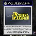 Daniel Defense D2 Decal Sticker Yellow Laptop 120x120