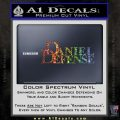 Daniel Defense Decal Sticker Glitter Sparkle 120x120