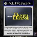 Daniel Defense Decal Sticker Yellow Laptop 120x120