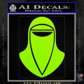 Emperor's Royal Guard Decal Sticker Lime Green Vinyl 120x120