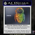 Eve from Wall e D1 Decal Sticker Glitter Sparkle 120x120