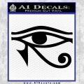 Eye of Horus Decal Sticker Rah Black Vinyl 120x120