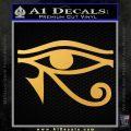 Eye of Horus Decal Sticker Rah Gold Vinyl 120x120