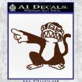 Family Guy Evil Monkey Decal Sticker BROWN Vinyl 120x120