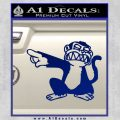 Family Guy Evil Monkey Decal Sticker Blue Vinyl 120x120