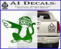 Family Guy Evil Monkey Decal Sticker Green Vinyl Logo 120x97
