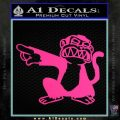 Family Guy Evil Monkey Decal Sticker Pink Hot Vinyl 120x120