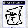 Final Fantasy Decal Sticker Black Mage 2Pk 2 120x120