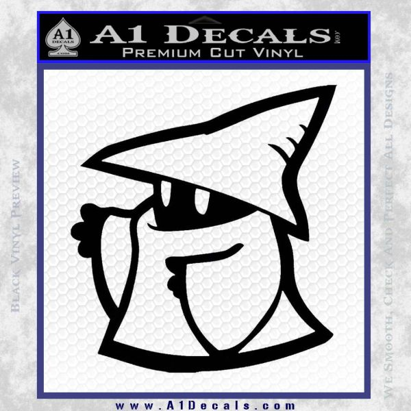 Final Fantasy Decal Sticker Black Mage 2Pk 2