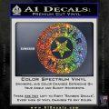Forever Metal Rock Star Decal Sticker Sparkle Glitter Vinyl 120x120