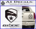 GI Joe Decal Sticker Movie Carbon FIber Black Vinyl 120x97