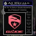 GI Joe Decal Sticker Movie Pink Emblem 120x120