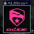 GI Joe Decal Sticker Movie Pink Hot Vinyl 120x120