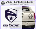 GI Joe Decal Sticker Movie PurpleEmblem Logo 120x97
