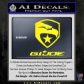 GI Joe Decal Sticker Movie Yellow Laptop 120x120