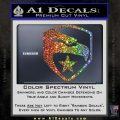 GI Joe Decal Sticker Shield Glitter Sparkle 120x120