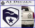 GI Joe Decal Sticker Shield PurpleEmblem Logo 120x97
