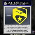 GI Joe Decal Sticker Shield Yellow Laptop 120x120
