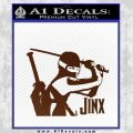 GI Joe Retaliation Jinx Ninja Decal Sticker BROWN Vinyl 120x120