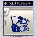 GI Joe Retaliation Jinx Ninja Decal Sticker Blue Vinyl 120x120