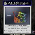 GI Joe Retaliation Jinx Ninja Decal Sticker Glitter Sparkle 120x120