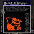 GI Joe Retaliation Jinx Ninja Decal Sticker Orange Emblem 120x120