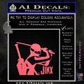 GI Joe Retaliation Jinx Ninja Decal Sticker Pink Emblem 120x120