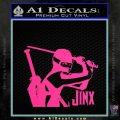 GI Joe Retaliation Jinx Ninja Decal Sticker Pink Hot Vinyl 120x120