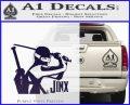 GI Joe Retaliation Jinx Ninja Decal Sticker PurpleEmblem Logo 120x97
